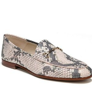 Sam Edelman snakeprint loafers